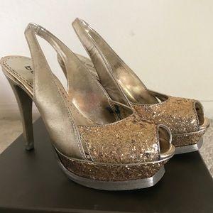 Bebe Gold stilettos heels - 6